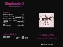 Stephanie D Coiffure à Domicile Home Facebook