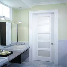 photo simple frosted glass single leaf oem guangdong manufacturers aluminium alloy flush door design