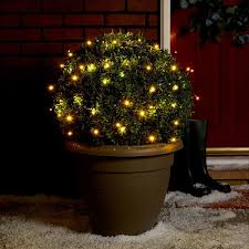 Battery Operated Lights Christmas Outdoor 5m Outdoor Battery Fairy Lights Green Cable