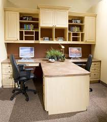Home office for 2 Two Furniture Home Officegreat Office For People Love The Closed Cabinetry For Hiding Things Out Of Sight Makes The Room Much More Organized Looking Pinterest Home Officegreat Office For People Love The Closed Cabinetry