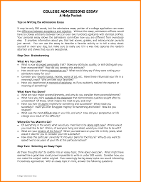 Examples Of A Good College Essay 5 Essay Examples For College Business Opportunity Program