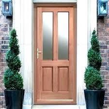 double glazed front doors unique coloring glazed front door