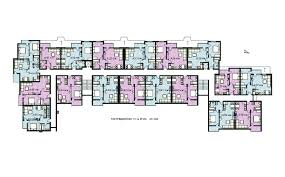 Modern Apartment Building Plan Apartment Complex Floor Plans