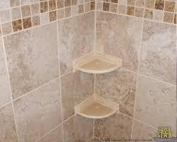 corner shower shelf for tile the kienandsweet furnitures with shelves design 9