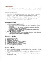 Real Estate Appraiser Resume Example Resume Examples Pinterest