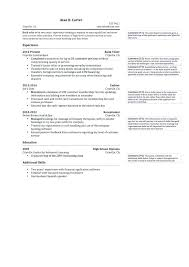 Bank Teller Resume Description Sample Entry Level Job Resumes Lead
