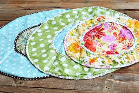 how to make a round diaper changer from a vinyl tablecloth plus free pattern e