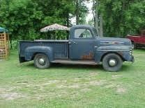 1948 – 1952 Mercury Trucks – Mercury Pickup
