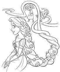 Kleurplaten Rapunzel Disney Brekelmansadviesgroep