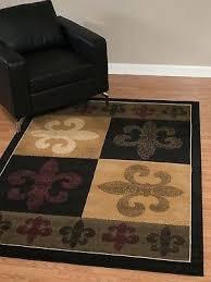 fleur de lis aubusson area rugs black rug free