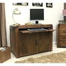 traditional hidden home office desk. Wonderful Office Hidden Home Office Desk Walnut Computer Baumhaus  Hampton   Inside Traditional Hidden Home Office Desk O