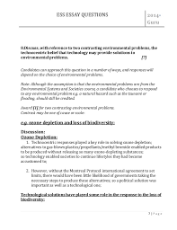 an essay about environment co environmental grade 12 economics essay topics