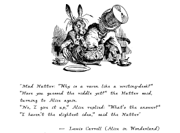after publishing alice in wonderland lewis carroll felt that he had to provide an answer to his devoted readers as they were frustrated by the riddle