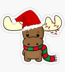 <b>Christmas Cartoon</b> Stickers