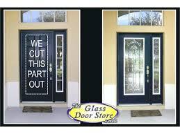 exterior front doors with glass door