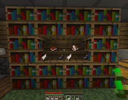 Book Stand Bookshelf for Book&Quill Suggestions Minecraft