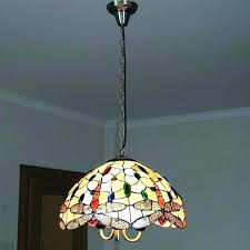 stained glass hanging lamp shades ed antique stained glass hanging lamp shades
