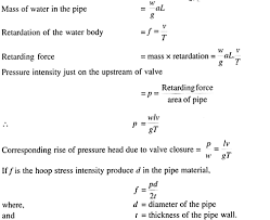 Velocity Of Water Through A Pipe Chart Rise In Pressure Of Water Flowing Through A Pipe Diameter