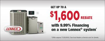 lennox air conditioning. lennox air conditioners. rebate conditioning