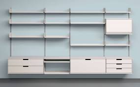 office shelving systems. Interior:Custom Shelving Systems Decorative Wall Shelves Home Office Kitchen Modular