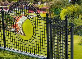 metal fence for your garden