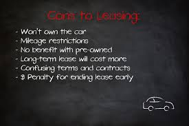 Buying Vs Leasing A New Car Which Is Better