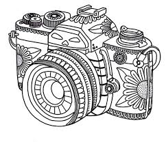 coloring pages get the coloring page camera 50 printable adult coloring