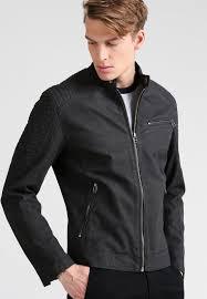 esprit faux leather jacket black men clothing jackets esprit decor corps chesapeake virginia