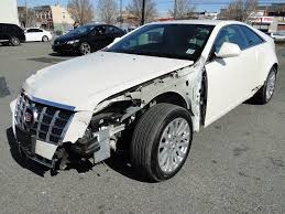 2012 Cadillac CTS 3.6L V6 RWD Coupe Repairable for sale