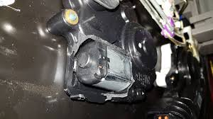 picture of replace the motor of the latch
