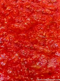 tomato sauce from canned tomatoes