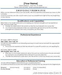Emergency Room Nurse Resume Template Er Nurse Resume Awesome Emergency Room Nurse Resume Of Er