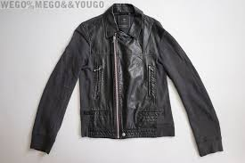 undercover x uniqlo uu faux leather rider jacket jun takahashi black small s
