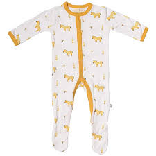 Kyte Baby Footies Baby Footed Pajamas Made Of Soft Organic Bamboo Rayon Material 0 24 Months Printed Colors