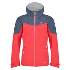 women s reconfine lightweight hooded waterproof jacket fiery c meteor grey dww443 688 1