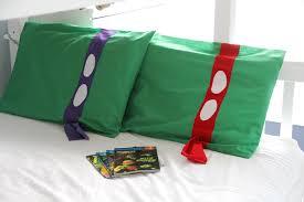 Teenage Mutant Ninja Turtle Pillowcase DIY