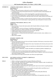 Office Coordinator Resume Sample Surgery Coordinator Resume Samples Velvet Jobs 12