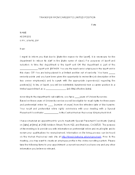 Career To Limited Position Transfer Letter Template Pdfsimpli