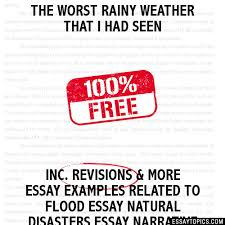 the worst rainy weather that i had seen essay the worst rainy weather that i had seen