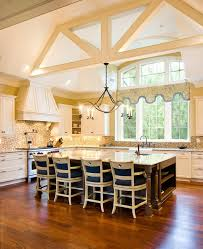 Traditional Luxury Kitchens Kitchens Amazing Luxury Big Kitchen With Big Window And High