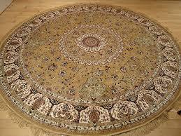 round persian rugs ideas