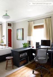 office in bedroom. Office Bedroom Ideas Small Home Guest Room Photo Of Throughout Combo Designs 6 In