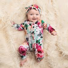 Fuchsia Wild <b>Flower</b> One Piece   <b>Newborn outfits</b>, Organic <b>baby</b> ...