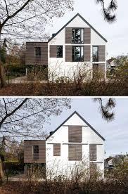 Dieses Haus Ist Ein Beispiel Für Moderne Fensterläden Architektur