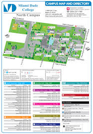 Miami Dade College Web Design Campus Map Directions North Campus Miami Dade College