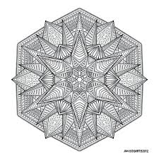 Captivating Geometric Pattern Coloring Pages Free Printable Mandala