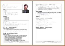 8 Lebenslauf Vorlage Modern Transition Plan Templates