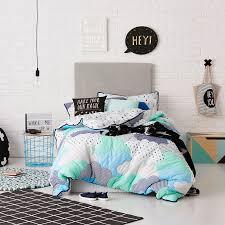 adairs kids cloud blue duvet cover set adairs kids bedroom quilt covers coverlets adairs