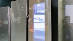 see through refrigerator. See Through Refrigerator