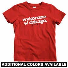 Details About Made In Chicago Polish Kids T Shirt Baby Toddler Youth Tee Poland Polska Il